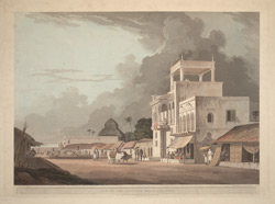 View on the Chitpore Road, Calcutta
